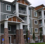 Image of typical Calgary condo